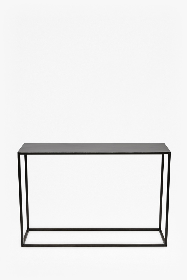 Gunmetal console table furniture french connection for Furniture x connection