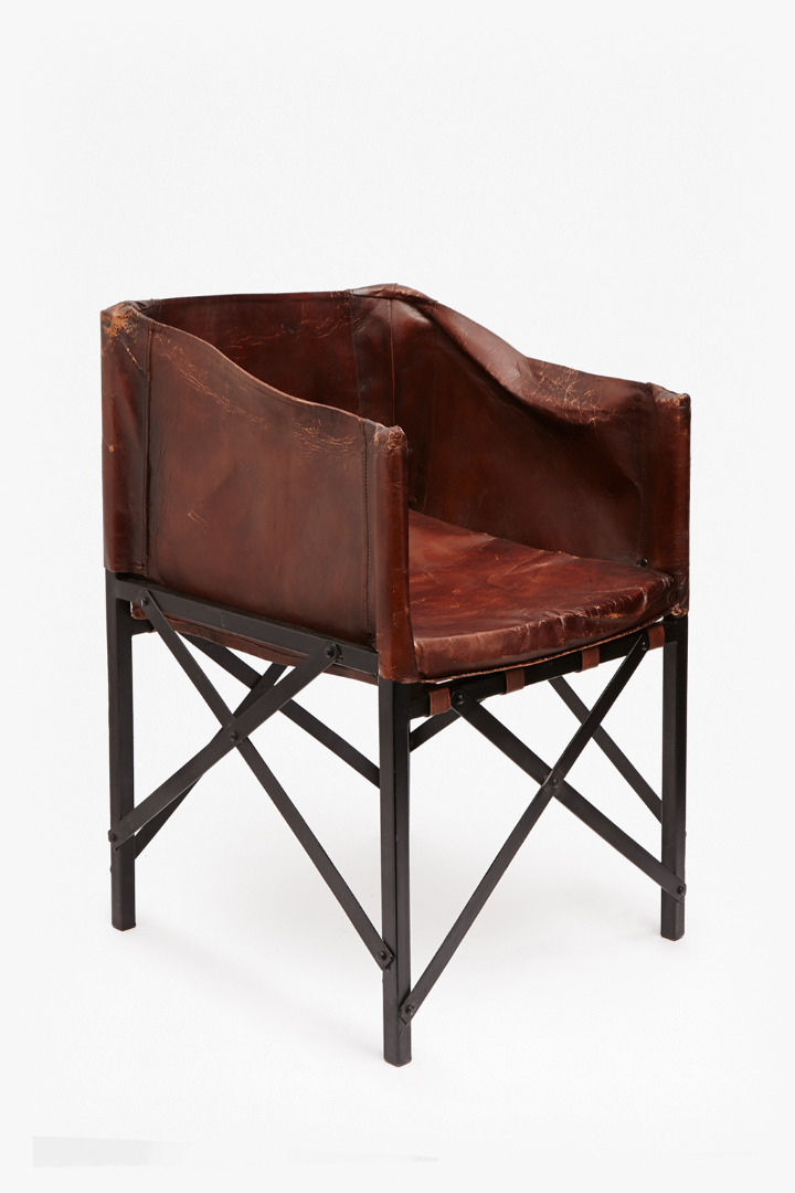 Leather pouch chair furniture french connection for Furniture x connection